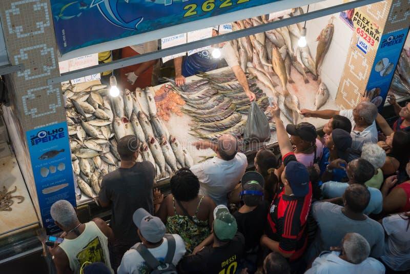 Populaire Markt stock fotografie