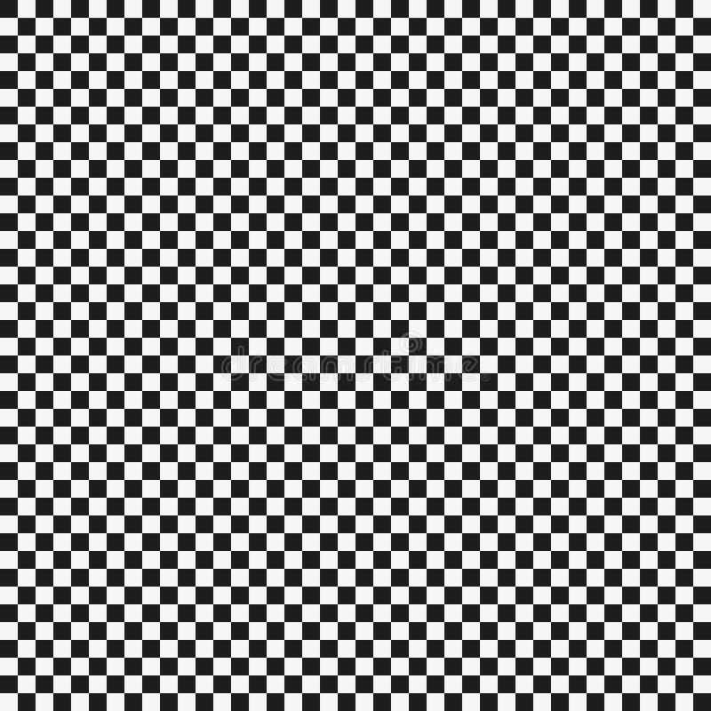 Populaire van het controleursschaak vierkante abstracte vector als achtergrond stock illustratie