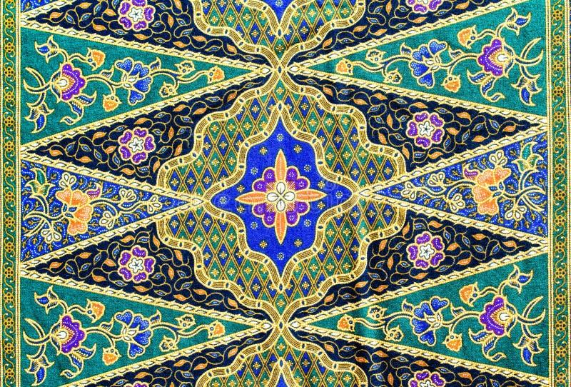 Popular batik sarong pattern background. This is popular batik sarong pattern background in Thailand, traditional batik sarong in Asian stock photos