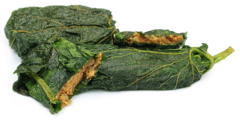 Download A Popular Bengali Fish Item With Leaf Stock Image - Image: 26417025