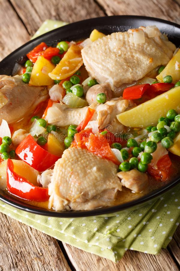 Popular filipino meal stew of chicken with vegetables afritada download popular filipino meal stew of chicken with vegetables afritada stock photo image of forumfinder Choice Image