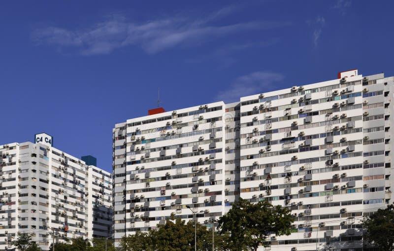 Popular housing units royalty free stock photos