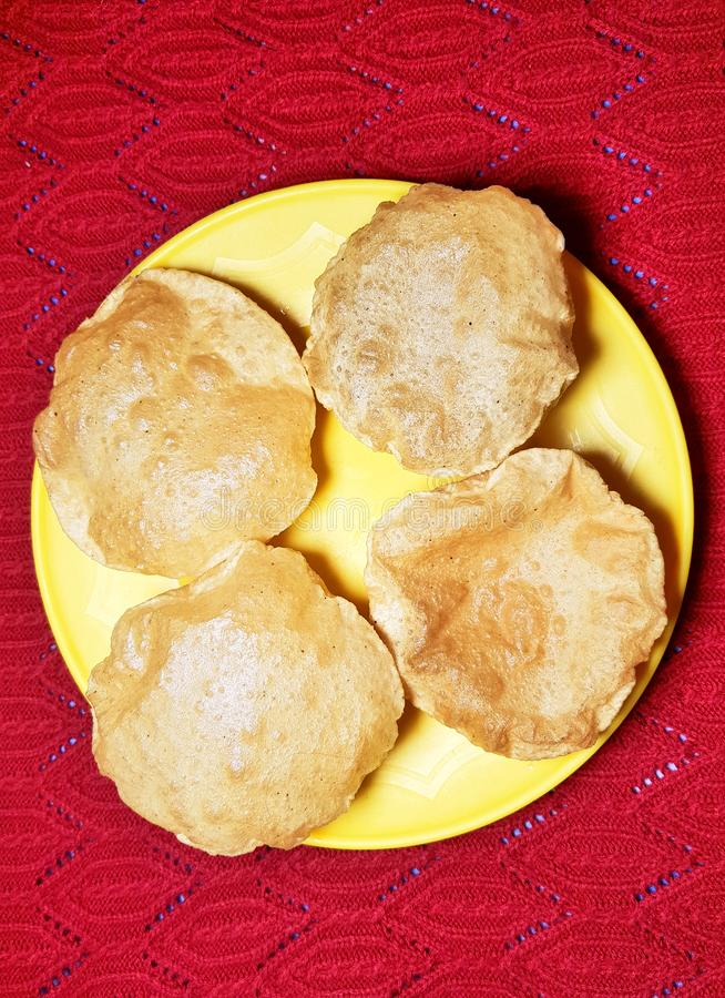 Free Popular Indian Dish Poori Royalty Free Stock Photography - 142368887