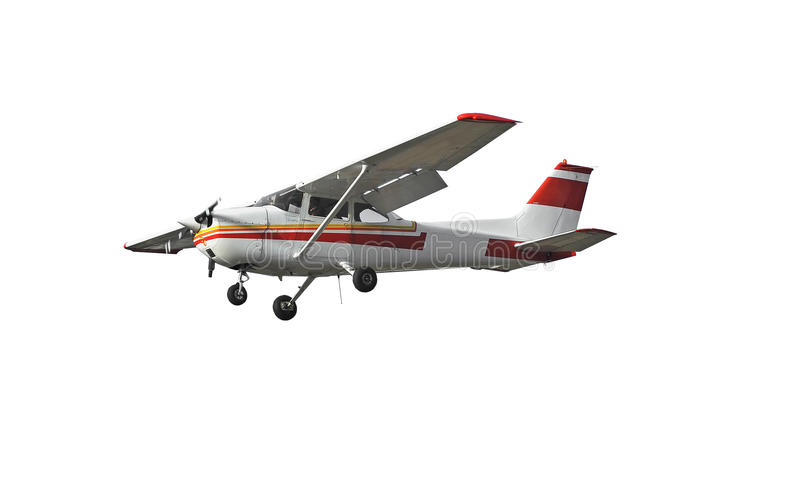 Popular light aircraft royalty free stock photography
