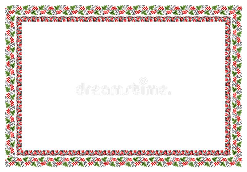 Popular motif, pattern, regular motif, tablecloth. Regular popular motifs from Transilvania. Can be used as carpet or tablecloth or a background for events royalty free stock images