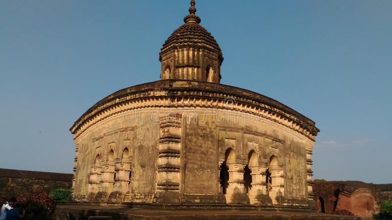 Popular Old Hindu Temple stock photography