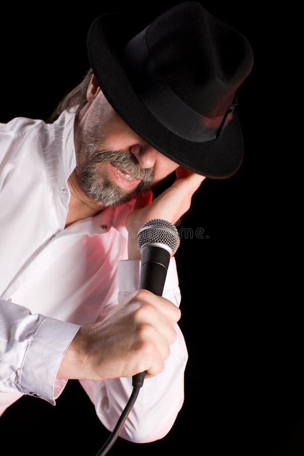 Popular Singer Stock Image