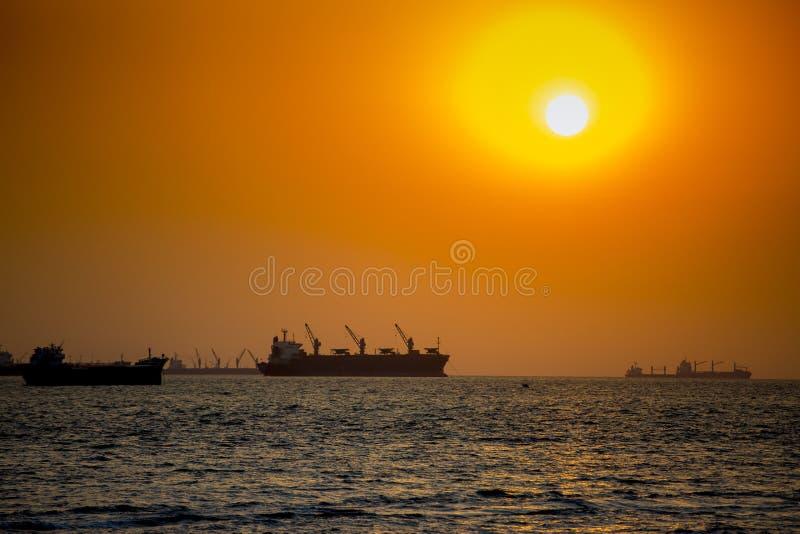 A popular tourist spot Patenga, Chittagong, Bangladesh. Patenga is a sea beach located 14 kilometres south of the port city of Chittagong, Bangladesh. It is stock image