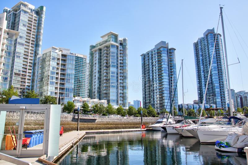 Popular Yaletown in Vancouver Downtown , BC, Canada stock images
