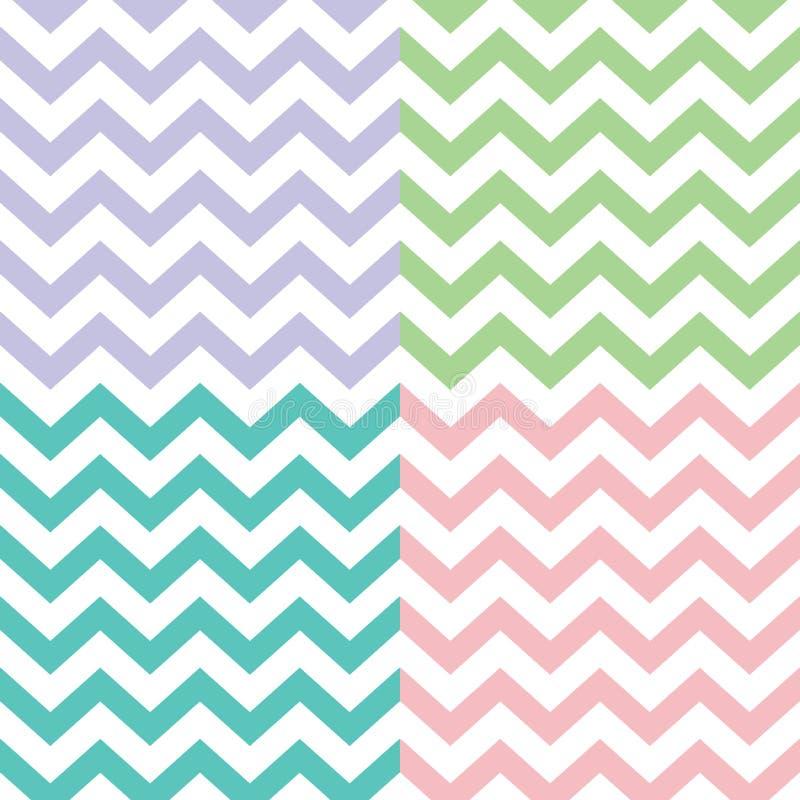 Popular zigzag chevron pattern. Vector popular zigzag chevron pattern vector illustration
