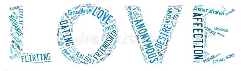 popularni miłość tematy royalty ilustracja