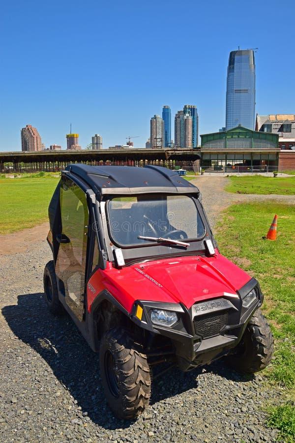Popularny ATV modeluje robi Polaris usa na swoboda stanu parku obraz royalty free