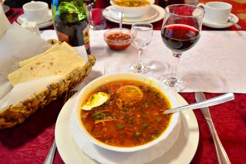 Popularny Rosyjski luksusowy jedzenie obraz stock
