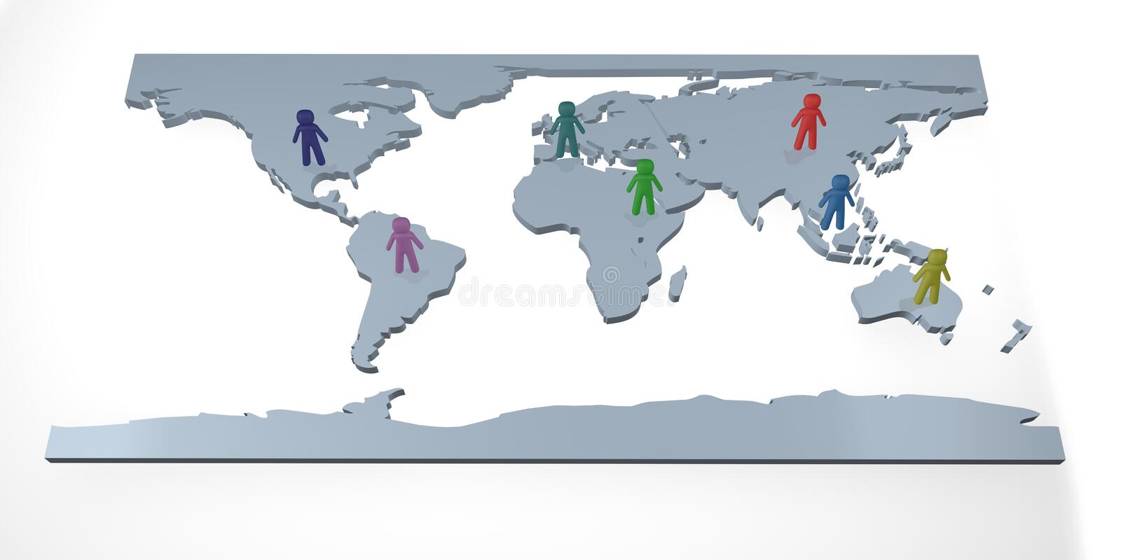 Download Population stock illustration. Image of differences, ethnicity - 5854599