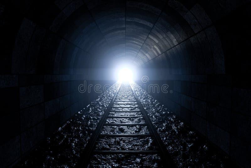 Poręcz w jamie, Perspektywiczny tło ilustracji