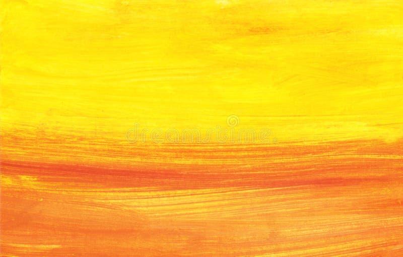 Por do sol abstrato foto de stock royalty free