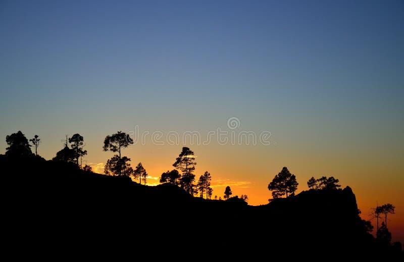 Download Por Do Sol Colorido, Pilancones, Gran Canaria Imagem de Stock - Imagem de contrastes, consoles: 107528849