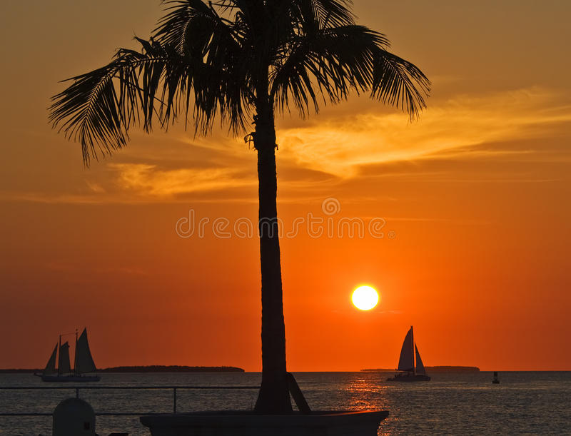 Por do sol de Key West