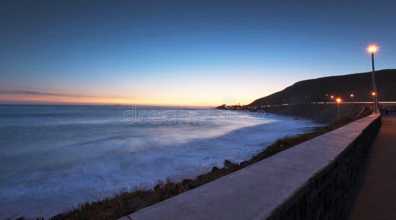 Por do sol em Baja, México fotos de stock royalty free