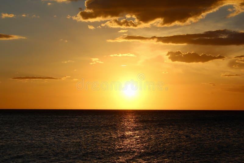 Por do sol em Cabo Rojo fotos de stock