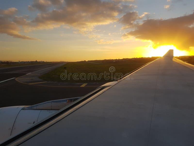 Por do sol em Lisboa imagem de stock royalty free