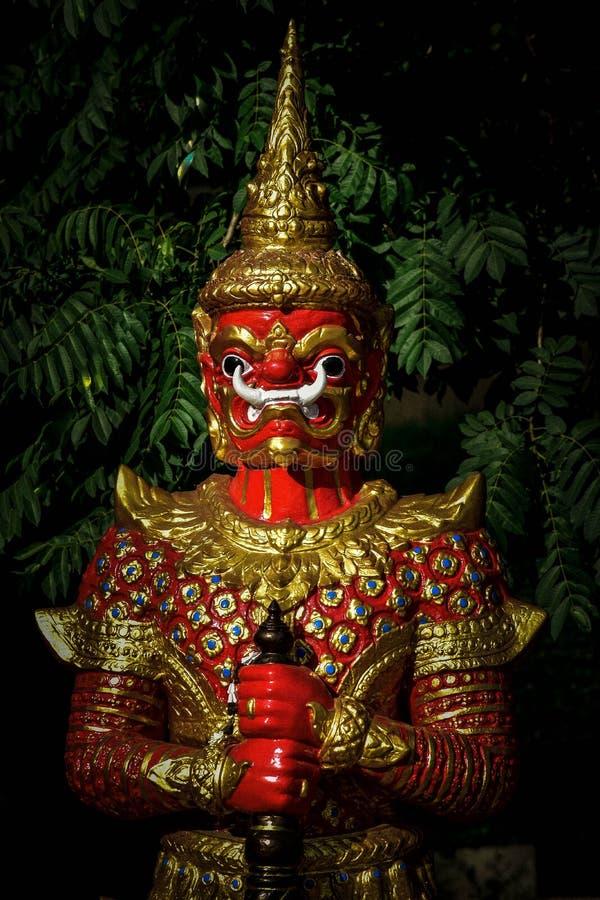 Por do sol em Tailândia imagens de stock