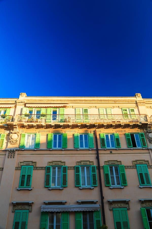 Por do sol em Trieste fotos de stock royalty free