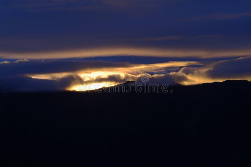 Por Do Sol Nas Nuvens Domínio Público Cc0 Imagem