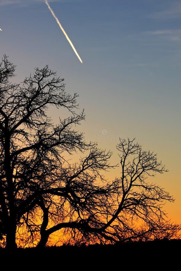 Por do sol no Grand Canyon foto de stock royalty free