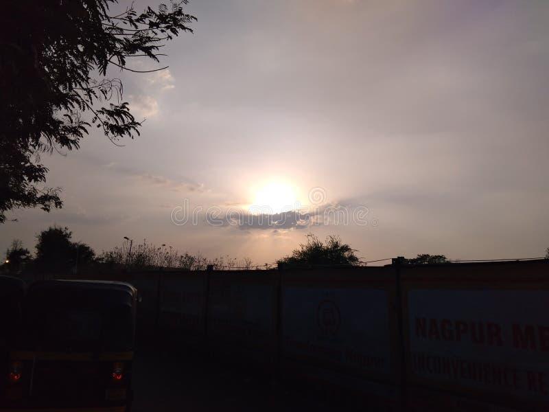 Por do sol no sudeste foto de stock royalty free