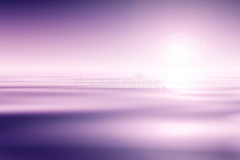 Por do sol sobre o oceano