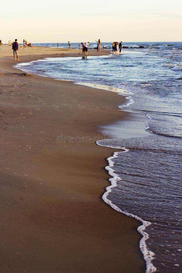 Por el mar fotos de archivo