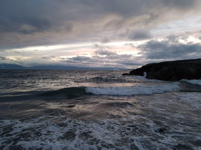 Por la bahía Victoria de James a.C. fotos de archivo libres de regalías