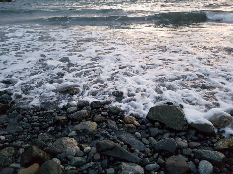 Por la bahía Victoria de James a.C. fotografía de archivo libre de regalías