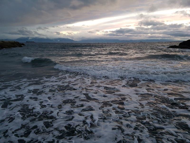 Por la bahía Victoria de James a.C. imagen de archivo libre de regalías