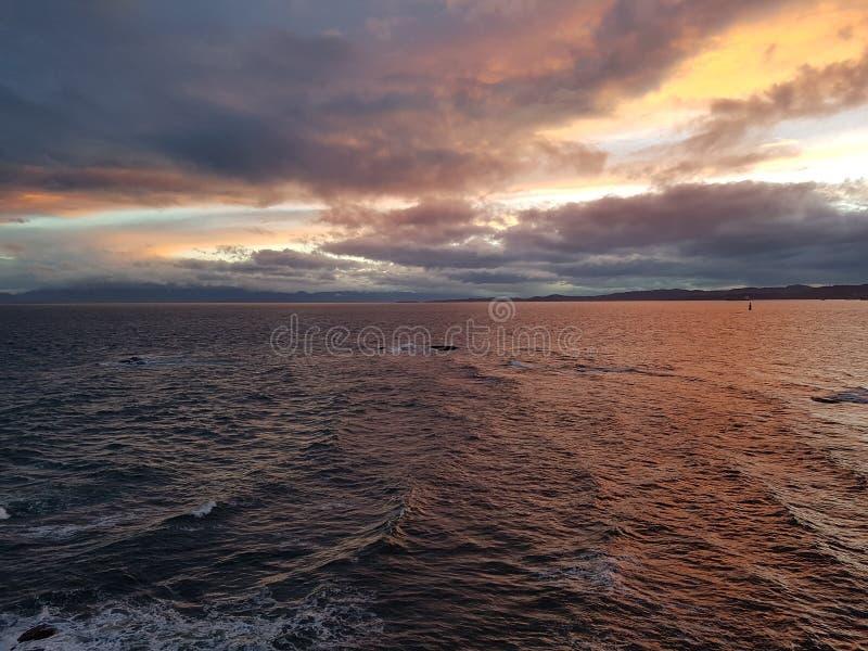 Por la bahía Victoria de James a.C. fotos de archivo