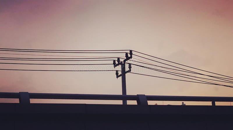Por la tarde antes de la salida del sol Mira para ser hermoso imagen de archivo