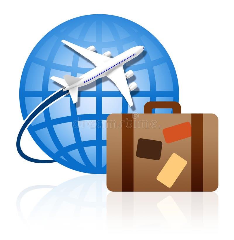 Por todo el mundo viajando imagen de archivo libre de regalías