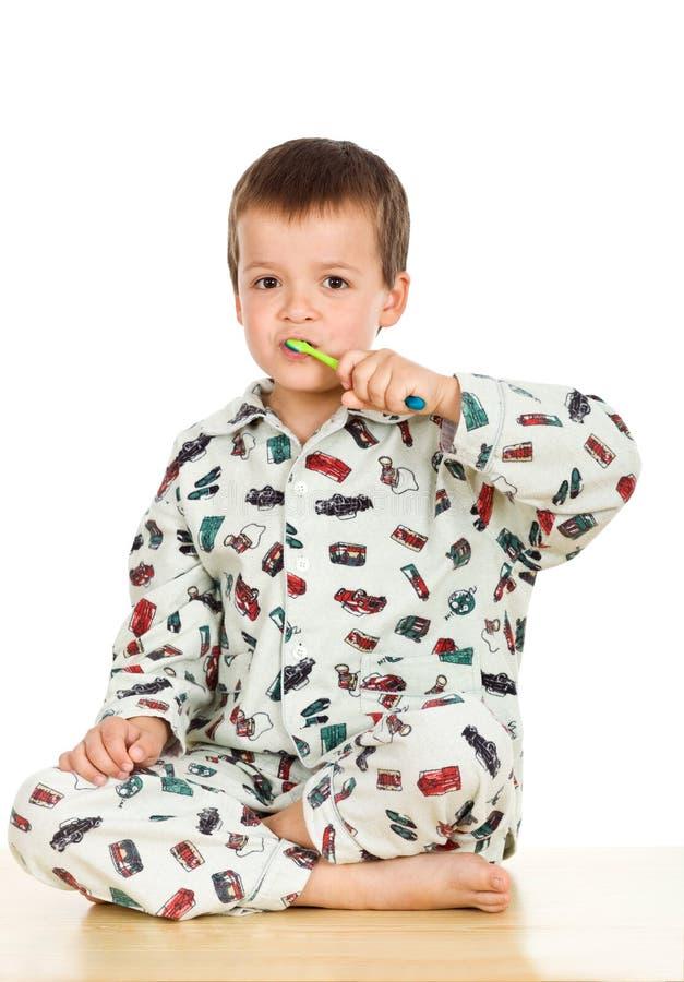 pora snu target1765_0_ dzieciaka zęby zdjęcie stock