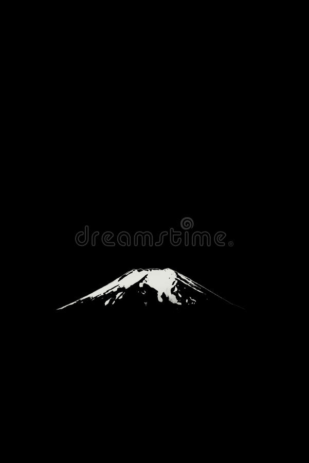 Porada góra Fuji obraz royalty free