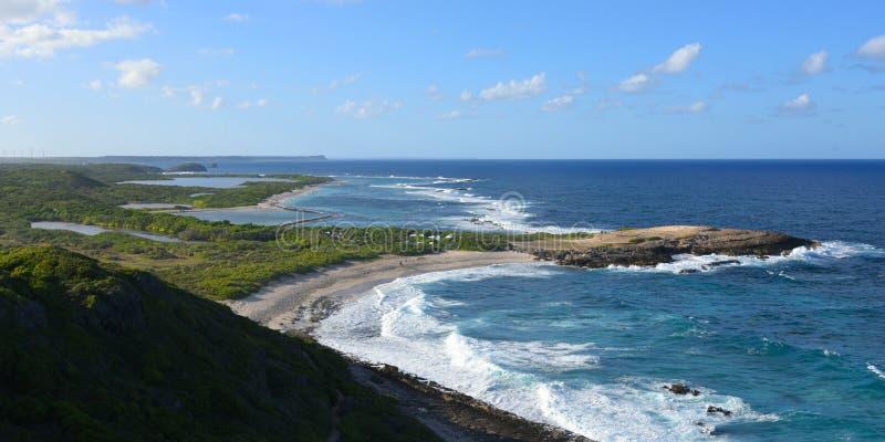 Porada kasztel w Guadeloupe zdjęcie royalty free