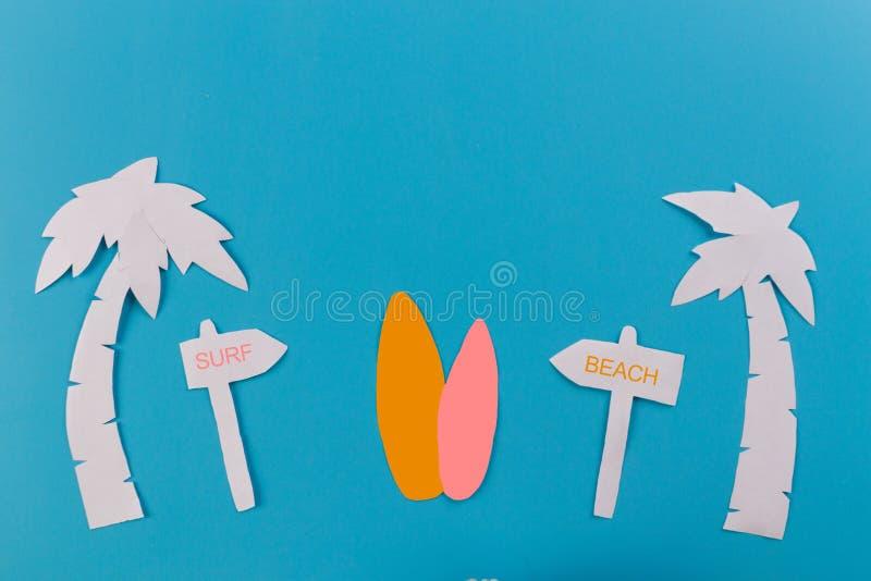 porady kipieli deska na plaży obrazy stock