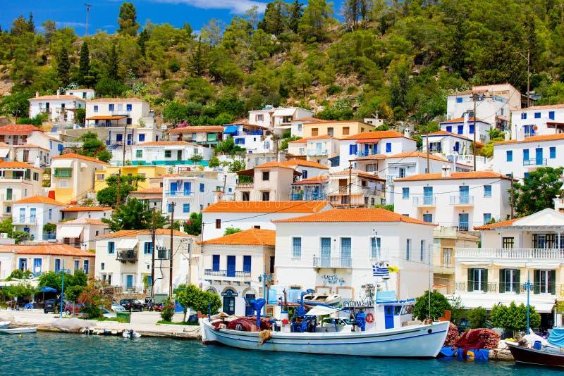 Poras, Griekenland royalty-vrije stock afbeeldingen