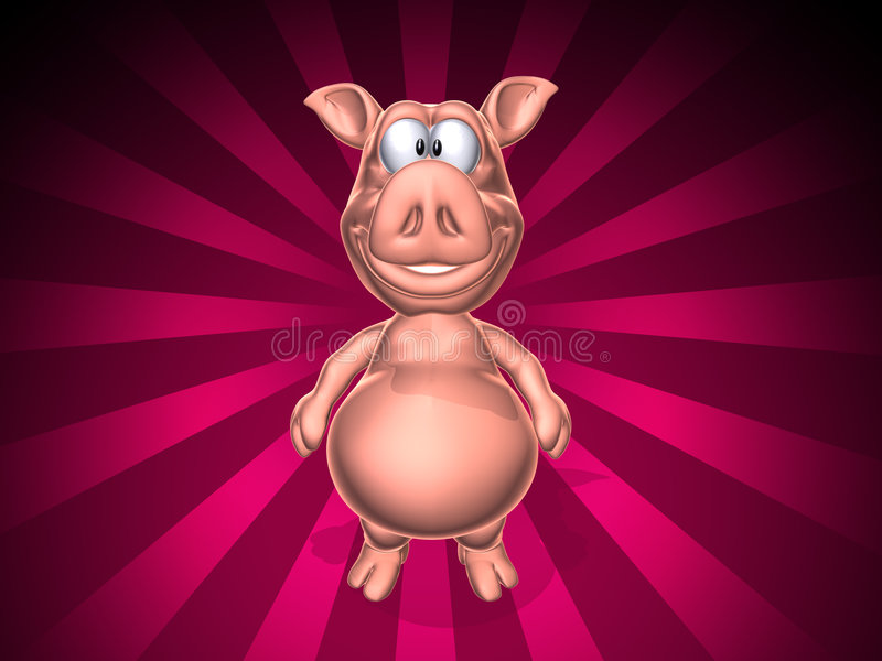 Porc illustration libre de droits