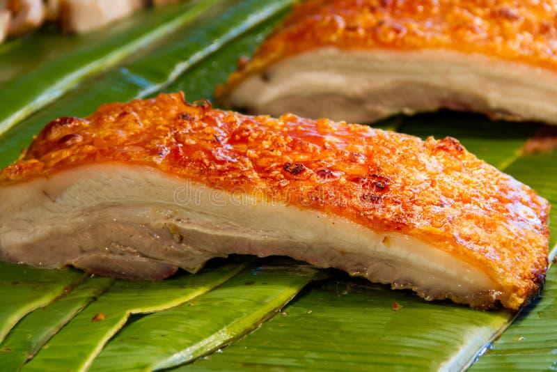 Porc croustillant photo libre de droits