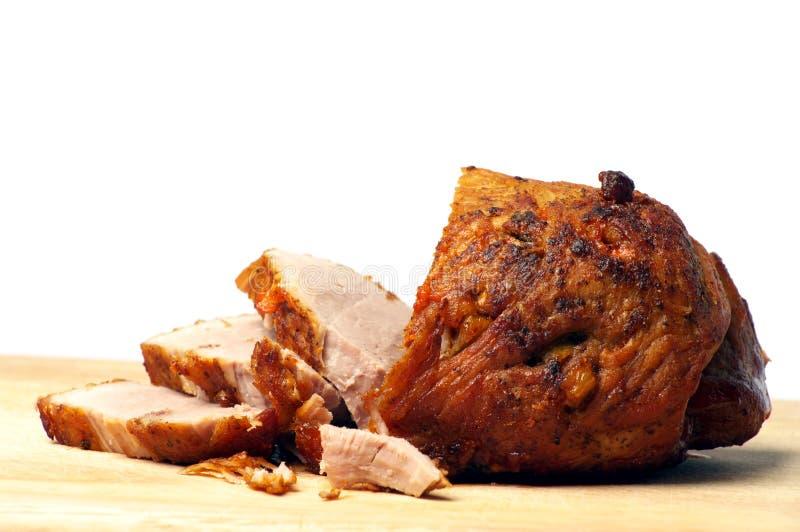 Porc cuit au four froid photo stock