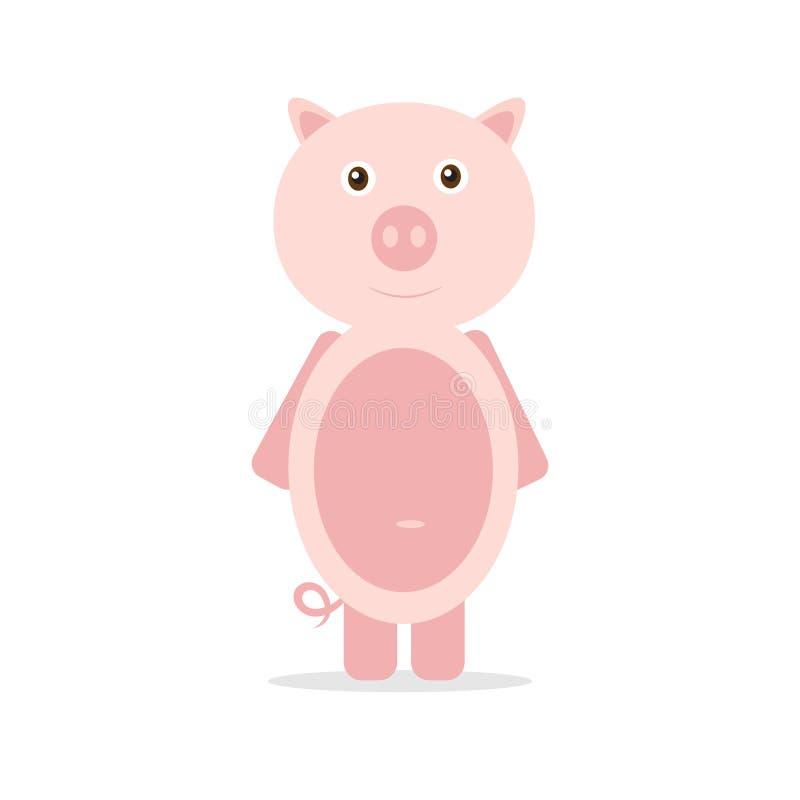 Porc de vecteur illustration stock