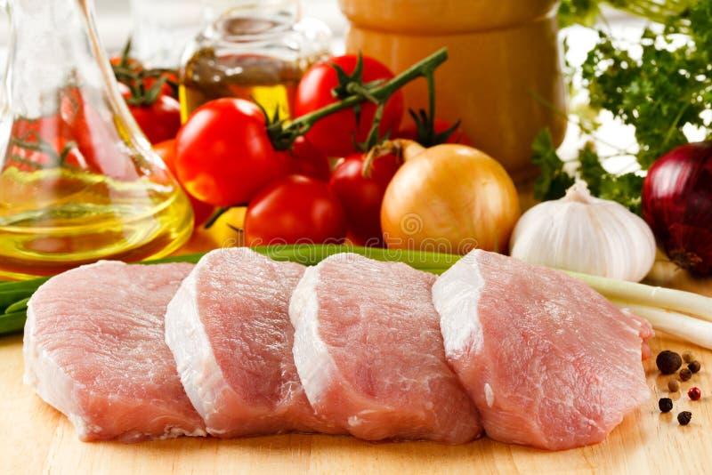 porc frais cru photo stock