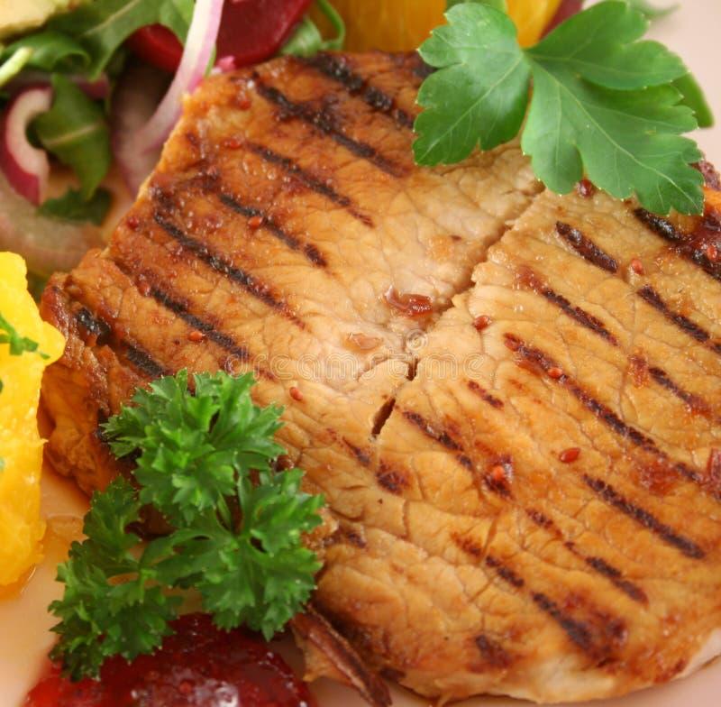 Porc grillé de guindineau photos stock