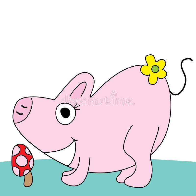 Porc mignon illustration stock